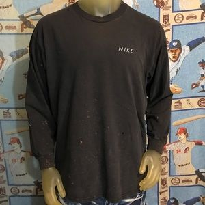 Vintage Nike Distressed Stained Faded Long Sleeve